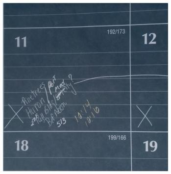 July 2001 Calandar - 11th box